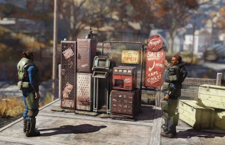 Fallout 76: How To Use Vending Machines | Marketplace Guide