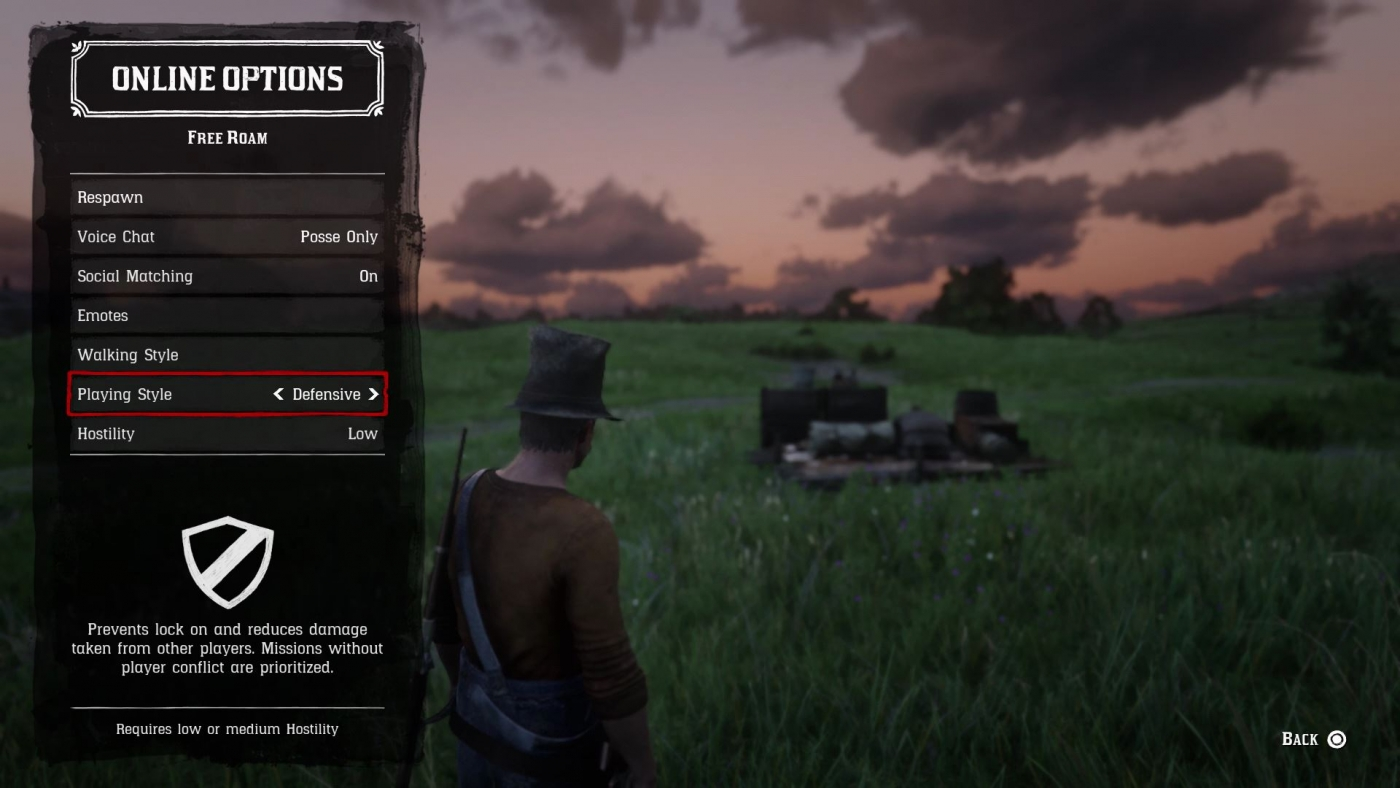 Red Dead Online: Switch To Defensive Playstyle To Avoid