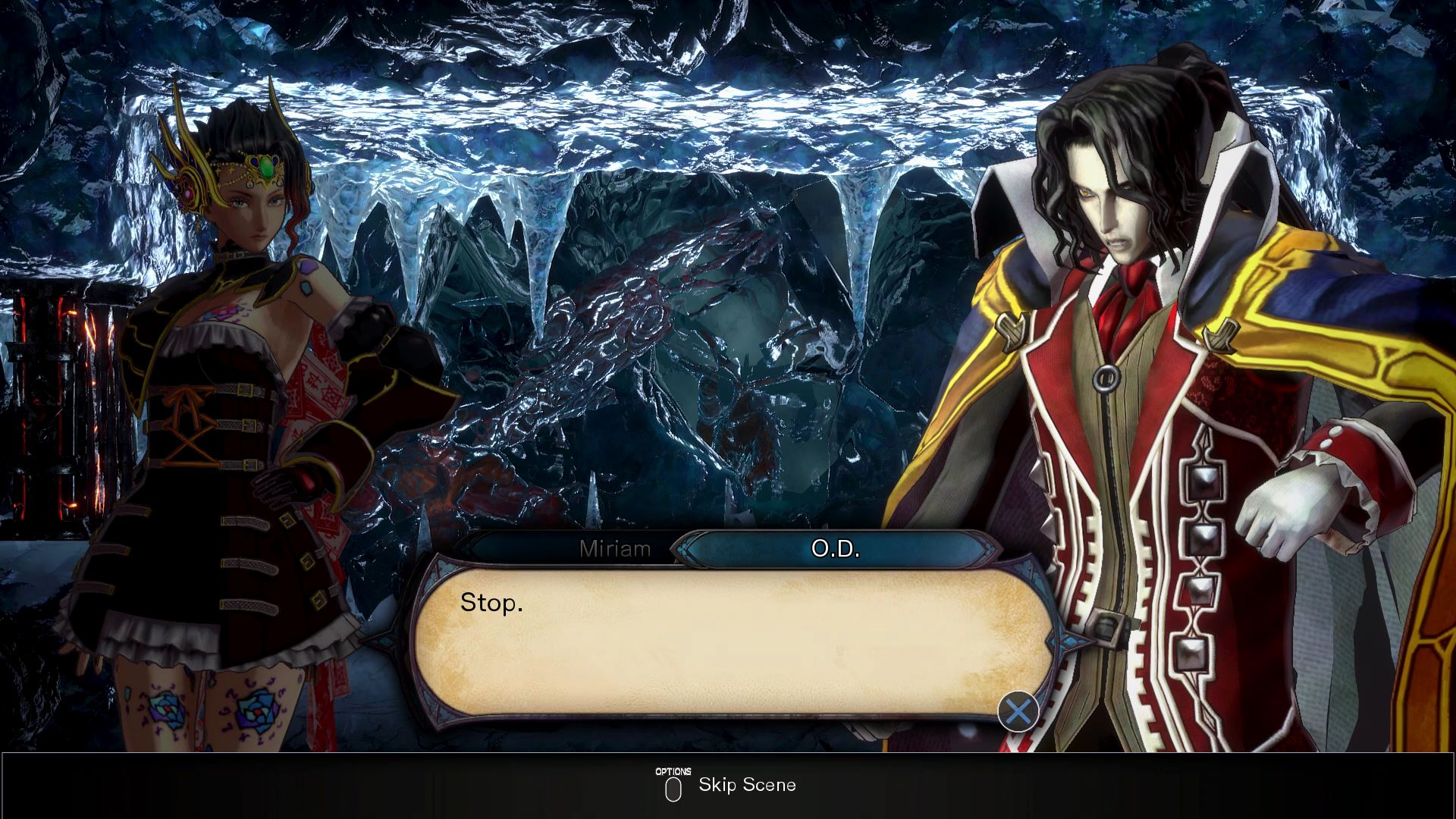 Bloodstained: Ritual of the Night - How To Fight OD (Alucard
