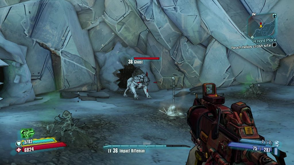 Borderlands 2: Commander Lilith DLC - How To Find Ghost | Game of
