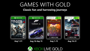 Xbox Games With Gold August 2019 Titles Revealed