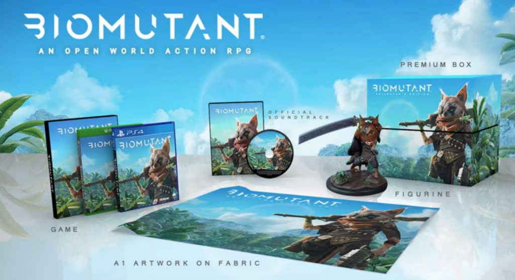 New Biomutant Atomic Collector Edition Announced and Will Run You Up to $400