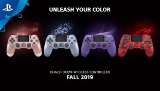 Sony Unveils Four New DualShock 4 Controller Color Variants