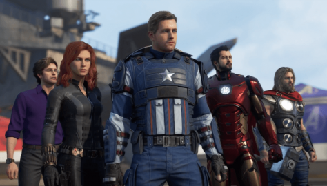 Marvel's Avengers New Screenshot Showcases the Closing Screenshot of the Upcoming Trailer