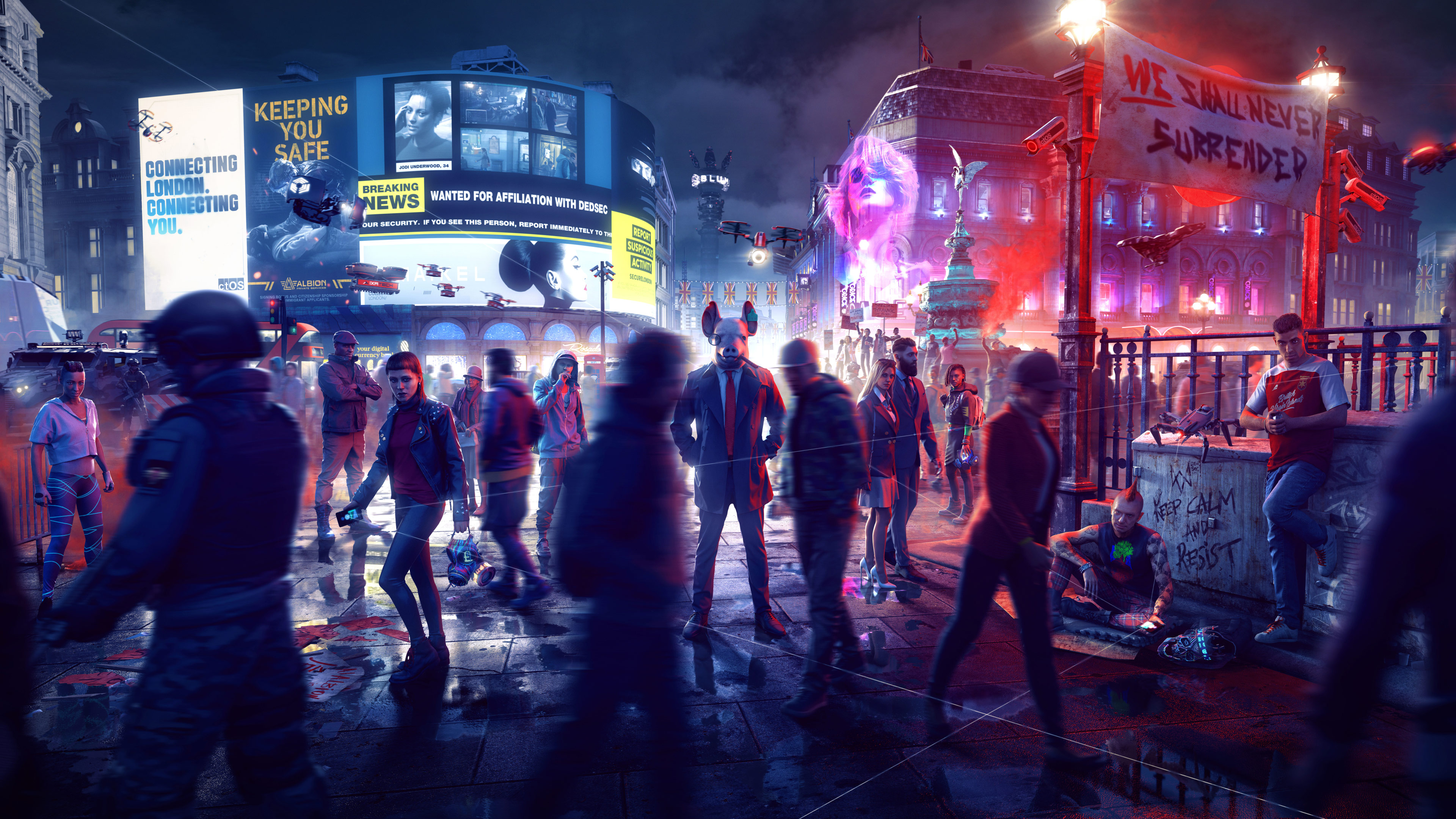 Watch Dogs Legion Wallpapers In Ultra Hd 4k Gameranx