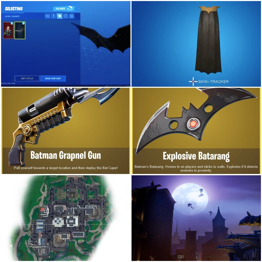 Leak: The Dark Knight Prepares For His Fortnite Debut ...