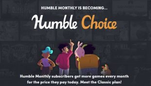 Humble Bundle Subscription Is Changing To Humble Choice
