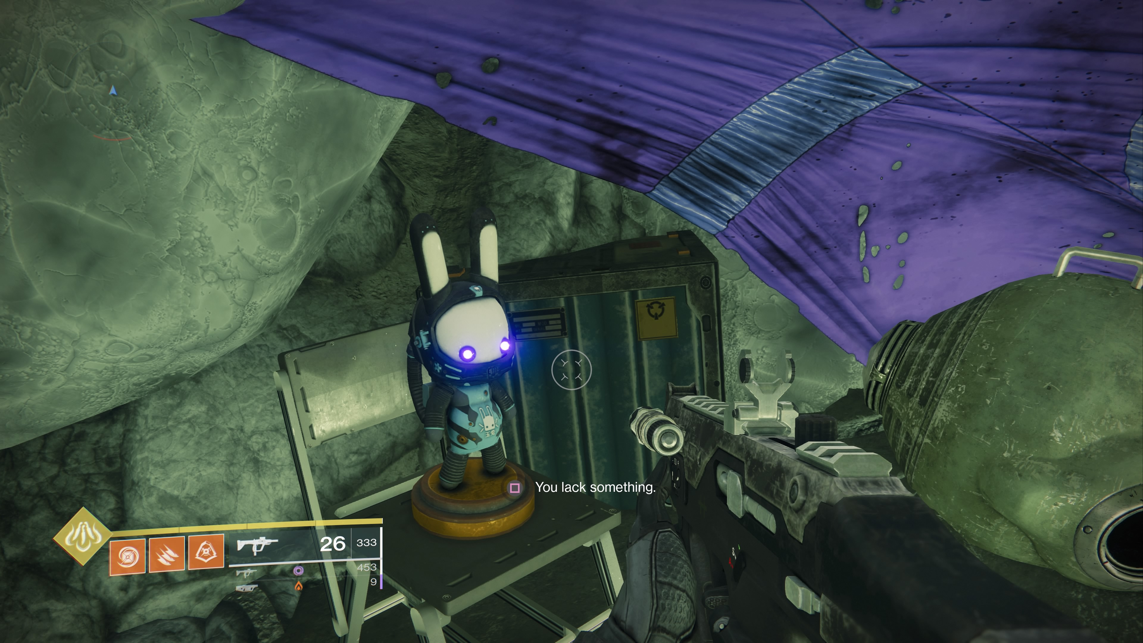 Destiny 2 Shadowkeep Here S What Those Weird Bunny Statues Do You Lack Something Guide Gameranx One of those is connected to a small rice cake drop that you'll notice from time to time. those weird bunny statues do