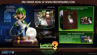 First 4 Figures Reveals New Luigi's Mansion Statue