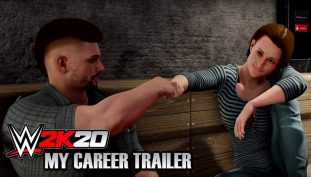 WWE 2K20 MyCareet Mode Trailer Showcases the Path of Becoming a Superstar