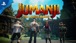Jumanji: The Video Game Launch Trailer Shows Off Our Heroes in Action