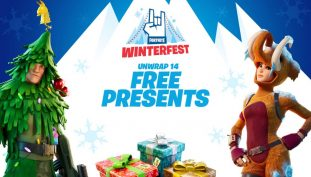 Fortnite Winterfest Launch Trailer Takes Players to The Winter Wonderland