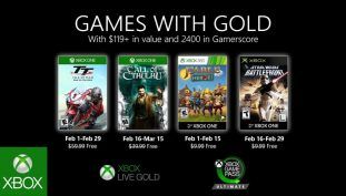 Microsoft's February's Games With Gold Features Call of Cthulu, TT Isle of Man, and More