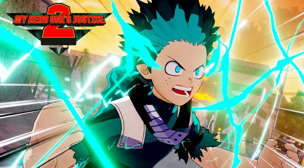My Hero One's Justice 2 Releases Latest Trailer Showcasing Deku vs. Overhaul in New Outfits