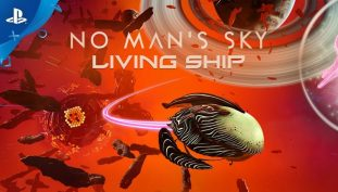 No Man's Sky Receives New Living Ship Update, Launch Trailer Released