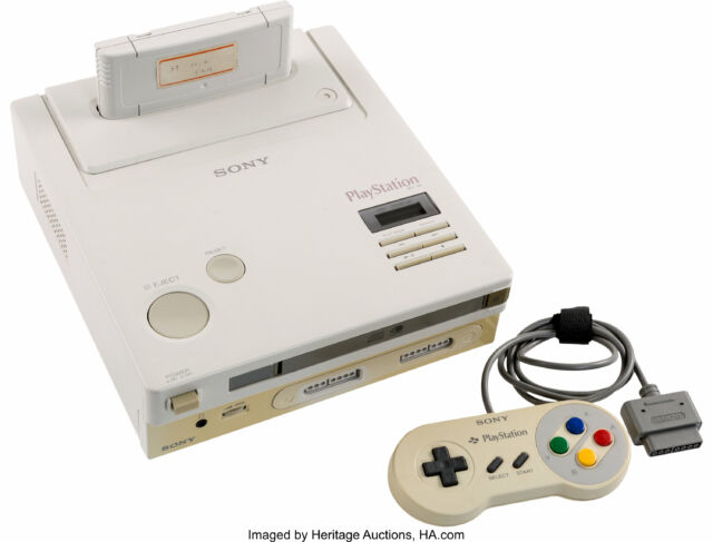 Nintendo PlayStation Prototype Console Goes Up For Auction