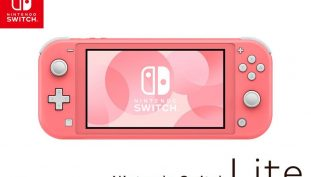 A New Coral-Colored Nintendo Switch Lite Will be Releasing in April