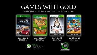 Microsoft Announces Games With Gold for April 2020