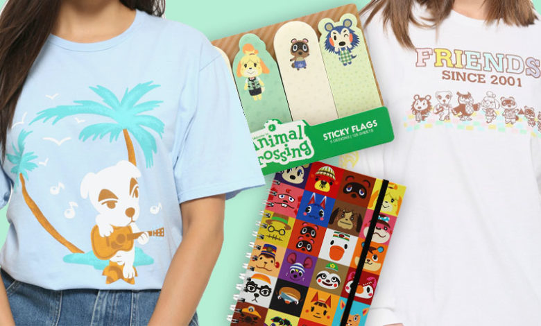 Check Out BoxLunch's Exclusive Animal Crossing Clothing Merchandise in New Trailer