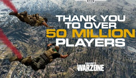 Activision Announces Warzone has Surpassed 50 Million Players