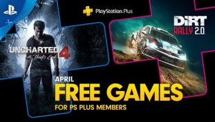 Uncharted 4: A Thief's End and Dirt Rally 2.0 Highlights April's Free PS Plus Lineup