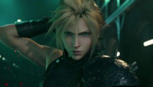 Final Fantasy 7 Remake Director,Tetsuya Nomura, Showcases New Colored Illustration of Cloud Strife Celebrating Upcoming Launch