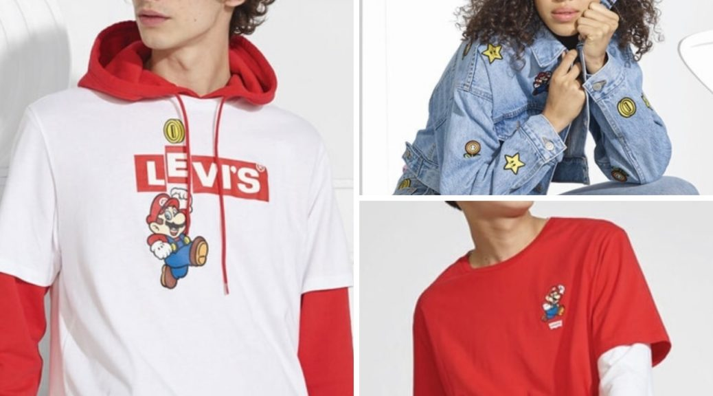 Nintendo x Levi's Collaboration Clothing Line Now Available, New Short Trailer Released