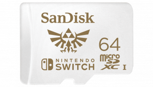 SanDisk Creates Official Nintendo Switch microSDXC Designs