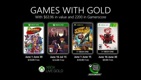 Games with Gold for June Announced, Features Coffee Talk, Shantae and the Pirate's Curse and More