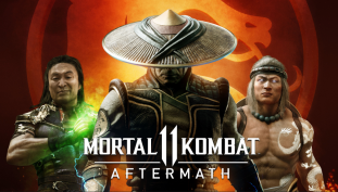 Mortal Kombat 11: Aftermath's Launch Trailer Promotes New Characters, Storylines, and Finishers