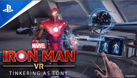 Iron Man VR Behind the Scene Trailer Focuses on Tinkering on the Suit With Tony Stark