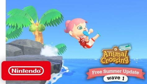 Animal Crossing: New Horizons Free Summer Update Wave 1 Announced, New Trailer Released
