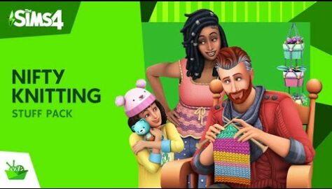 Sims 4 Latest Stuff Pack is Centered Around Nifty Knitting; New Trailer Released