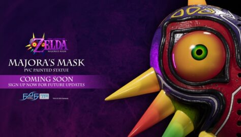 First Figures Teases First Look at The Legend of Zelda: Majora's Mask Statue