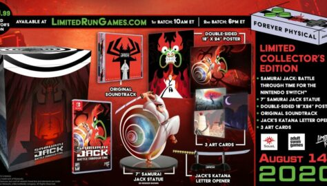 Limited Run Games Announce Samurai Jack: Battle Through Time Collector Edition; Set to Pre-Order August 14th