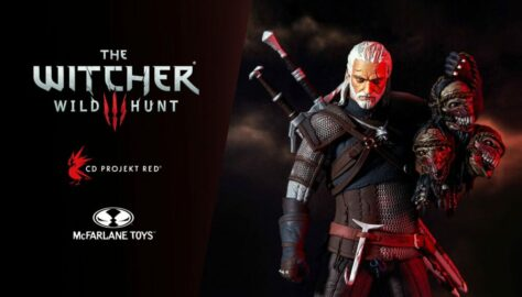 McFarlane Toys Announce 12-Inch Geralt Figure; Pre-Orders Go Live Mid-October