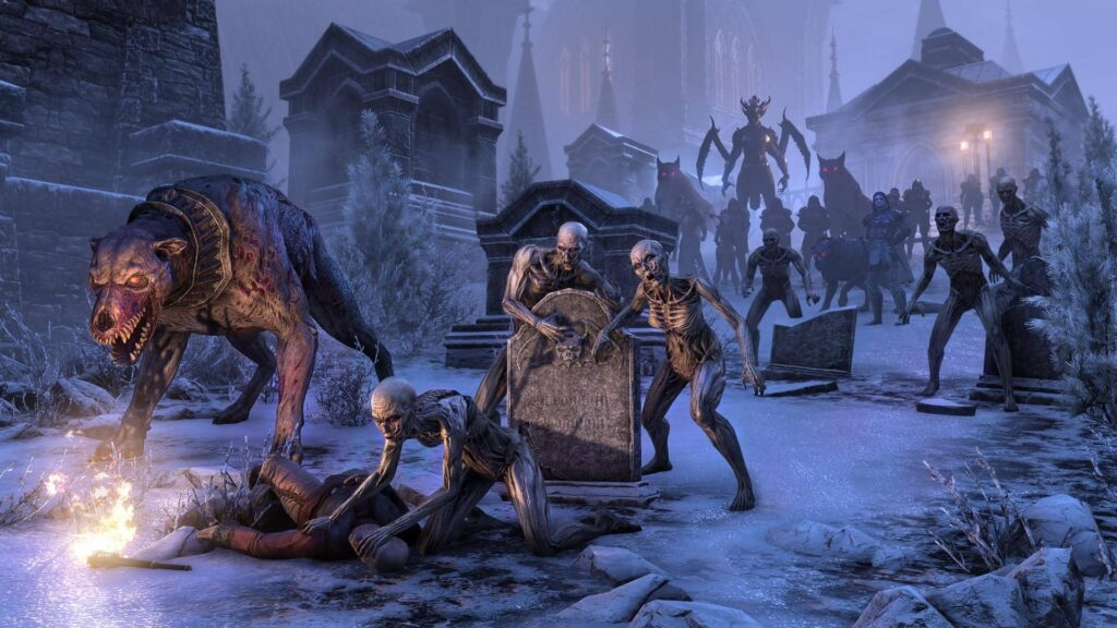 The Elder Scrolls Online: Stonethorn Set to Release Later This Month; New  Gameplay Trailer Released - Gameranx