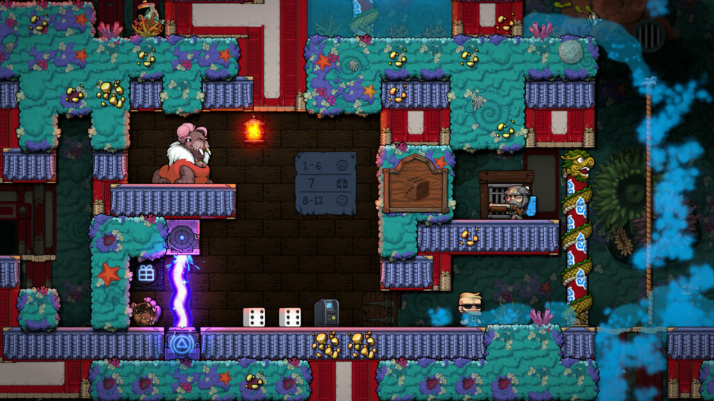 Spelunky 2 How To Unlock Every Area Black Market Mothership City Of Gold More Gameranx