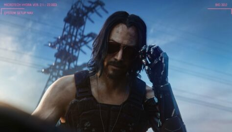 Cyberpunk 2077 Johnny